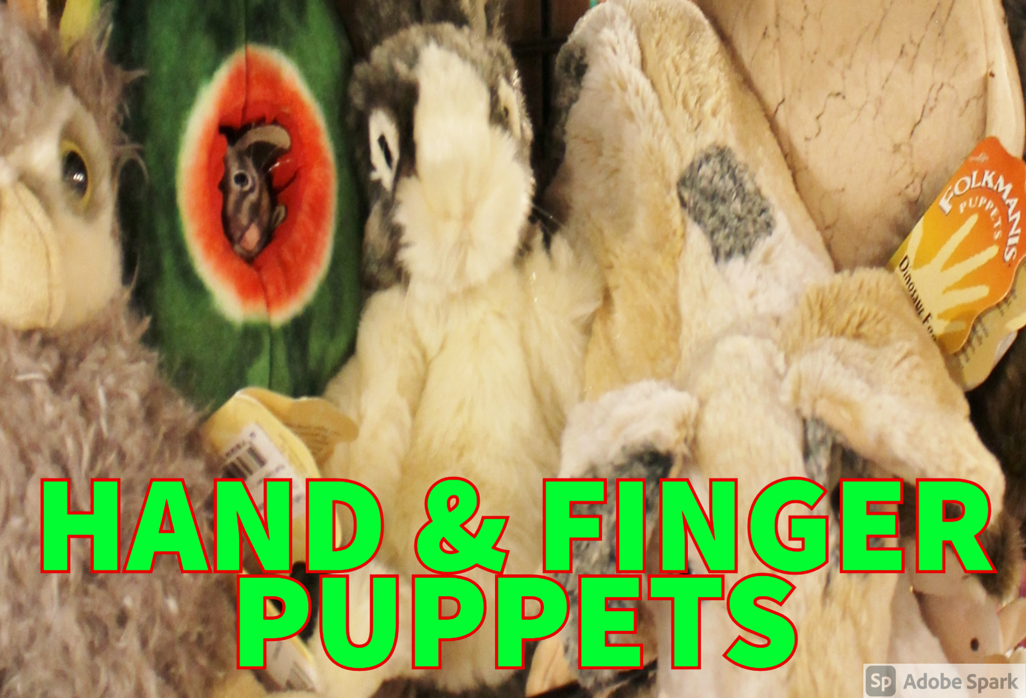 Puppets  and Plush Toys