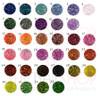 33 Colours Iridescent Rainbow Pearl Nail Glitters