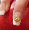 Love Heart Door Knocker Ring Nail Art Charms (Bag of 5)