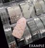 Example of Rose Gold Mini Bullion Beads (Nail Caviar) 0.8mm