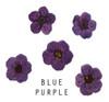 Blue Purple Coloured Mini Dried Flowers for Nail Art
