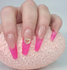 Ballet Tips Example with En Vogue Transparent Ice Pink