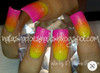 Example. INM Northern Lights Holographic Neon Yellow Glitter Acrylic Nail Powder (14gm or 42gm)