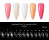 French Collection Stiletto Press On Nail Tips (240PCS Box + File) - Medium Stiletto Sizing