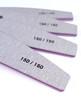 Nail Artistry Premium Zebra Nail Files Medium 150/150 Grit  - Single or Bulk