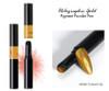 Holographic Chrome Pigment Powder Pen for Nail Art (Gold)