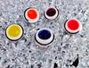 5PCS Simply Nail Gel UV/LED (Hard Gel) 5ml - ICE COLLECTION (Blue, Pink, Orange, Yellow & Purple)