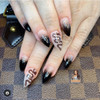 Black Snake Nail Stickers (+ Love, Moons, Stars, Hearts, Butterflies, Leaves & More!)