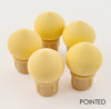 Pointed Replacement Sponge Heads for Puff Aero Ombre