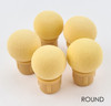 Round Replacement Sponge Heads for Puff Aero Ombre