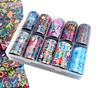 Grafitti Style Nail Art Transfer Foil Set (10 Designs Per Box)