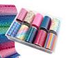 Rainbow Pop Variety Pack Nail Art Transfer Foil Set (10 Designs Per Box)