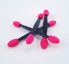 50PCS X Pink & Black Disposable Double-Ended Eye Shadow Applicator Sponges