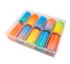 NEON Ombre Nail Art Transfer Foil Set (10 Designs Per Box). Fluorescent Nail Foils.