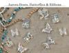 3D Acrylic Resin Aurora AB Teddy Bears, Butterflies & Ribbons