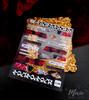 Moxie Ultra Thin Flexible Nail Art Stickers - Torn Roses