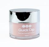 TNS Quick Dip Fast Setting Coloured Powder 28gm - Peachy Nude QD007