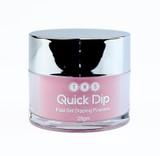 TNS Quick Dip Fast Setting Coloured Powder 28gm - Warm Pink QD009