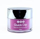 TNS Quick Dip Fast Setting Coloured Powder 28gm - Magenta Purple QD011