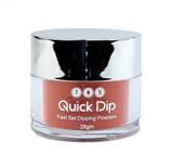 TNS Quick Dip Fast Setting Coloured Powder 28gm. Carmine Red QD018