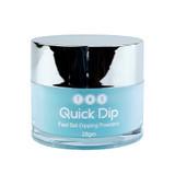 TNS Quick Dip Fast Setting Coloured Powder 28gm. Sky Blue  QD022.