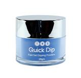 TNS Quick Dip Fast Setting Coloured Powder 28gm - Royal Blue QD023