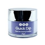 TNS Quick Dip Fast Setting Coloured Powder 28gm - Dark Purple Blue QD025