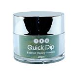 TNS Quick Dip Fast Setting Coloured Powder 28gm - Dark Teal (Gold Shimmer) QD036