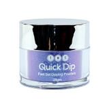 TNS Quick Dip Fast Setting Coloured Powder 28gm - Electric Purple (Blue Shimmer) QD04