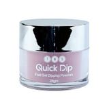 TNS Quick Dip Fast Setting Coloured Powder 28gm - Deep Mauve QD048