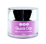 TNS Quick Dip Fast Setting Coloured Powder 28gm - Orchid Purple QD049