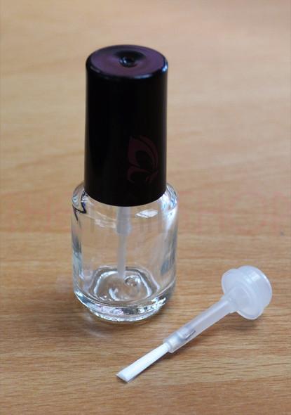 6PCS X Empty Mini Cuticle Oil Bottles/Nail Polish Bottles 5ml (BULK) - Quality DuPont Brush