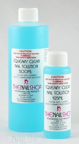 TNS Squeaky Clean Nail Solution (125ml/500ml/1000ml) - Dehydrator