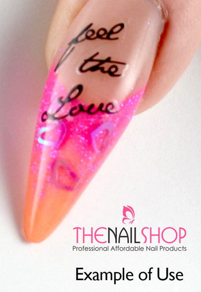 Products Used: INM Cover Pink , INM Neon Glitter Pink, & INM Neon Orange
