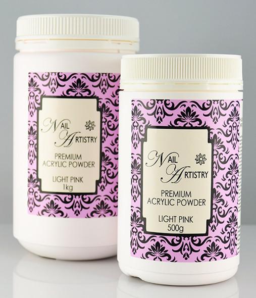 Nail Artistry Premium Acrylic Powder Light Pink (500gm & 1000gm)