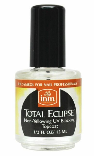 INM Total Eclipse Top Coat 15ml (Non-Yellowing UV Blocking Air Dry Top Coat)
