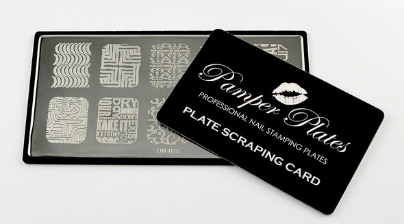 Pamper Plates Scraping Card