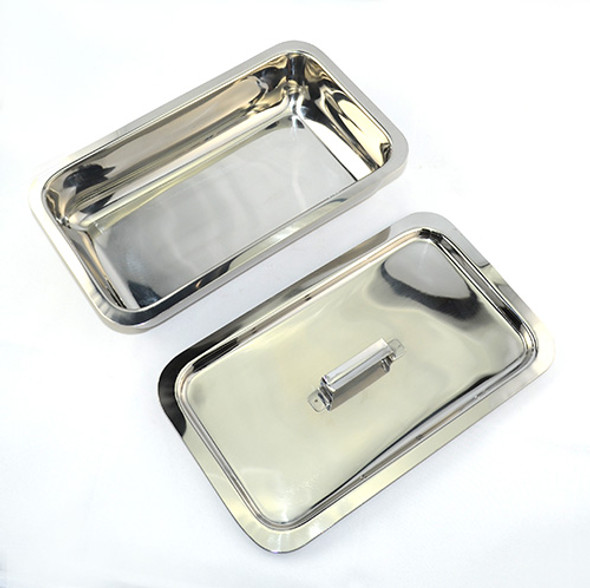 Salon Tray with Lid  for Manicure/Pedicure Implements