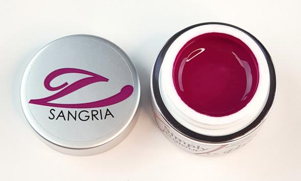 Simply Coloured UV/LED Nail Gel (Hard Gel) 5ml - Sangria