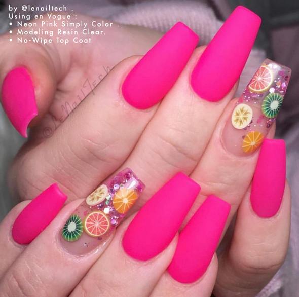 Lac It!™ Advanced Formula Gel Polish 15ml Bottle - Neon Pink