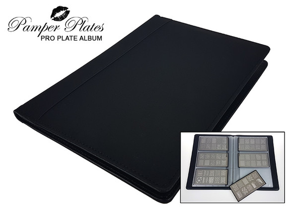Pamper Plate Rectangular Stamping Album (10 Pages, 30 Sleeves)