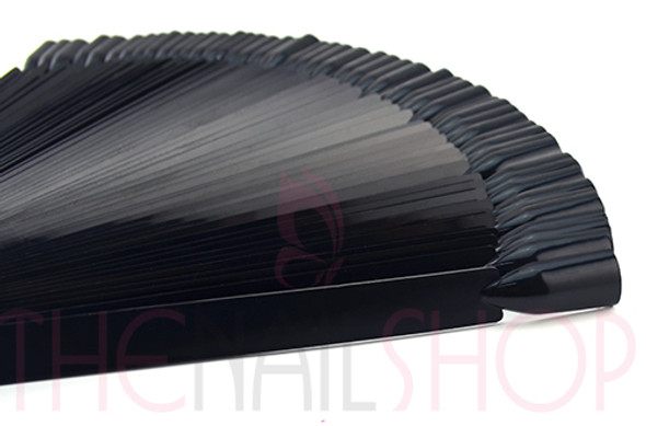 Black Nail Polish Colour Display Sticks on Ring (50 Removable Sticks)