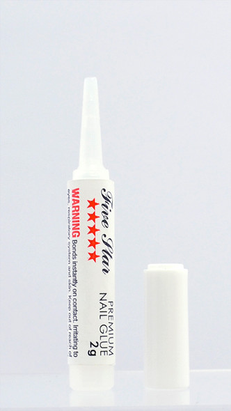Five Star Premium Clear Nail Glue (2gm Nozzle)