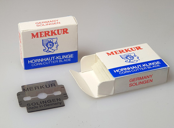 Merkur Solingen Callus Corn Rasp Blades (Single box of 10PCS or 10 Boxes of 100PCS)