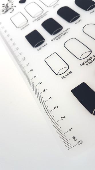 Silicone Nail Art Stamping Mat