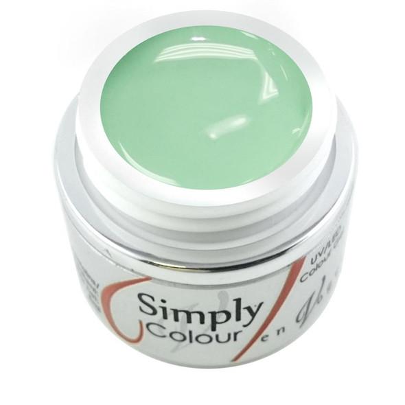 Simply Coloured UV/LED Nail Gel (Hard Gel) 5ml - Mojito