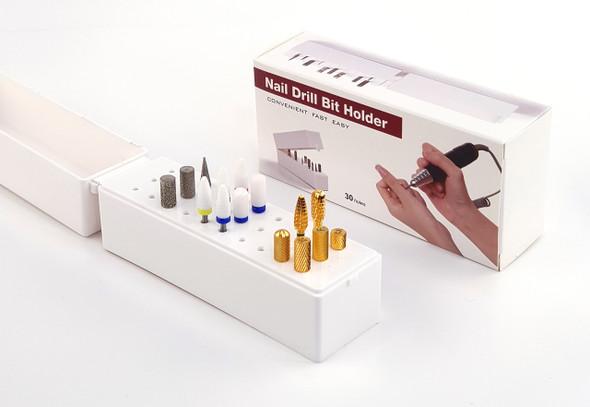Nail Drill Bit Holder Display Box