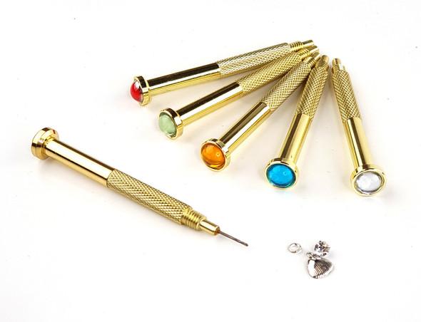 Nail Piercing Tool for Nail Art Dangles + FREE Nail Dangle (Natural, Acrylic, or Gel Nails)