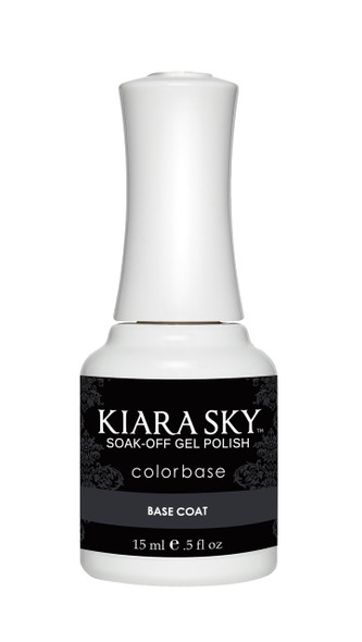 Kiara Sky Gel Polish Base Coat 15ml Bottle