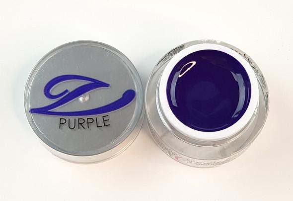 Simply Coloured UV/LED Nail Gel (Hard Gel) 5ml - Purple (Deep Purple)
